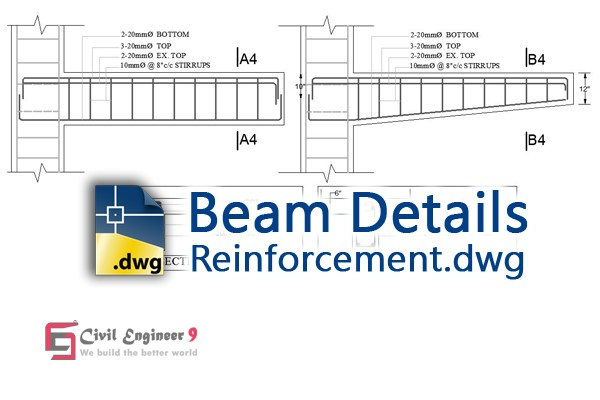 Beam Reinforcement Details | Structural Drawing For Free