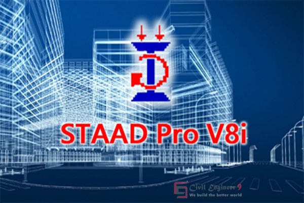 staad pro v8i software