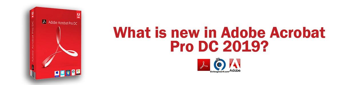 Adobe Acrobat Pro DC Features