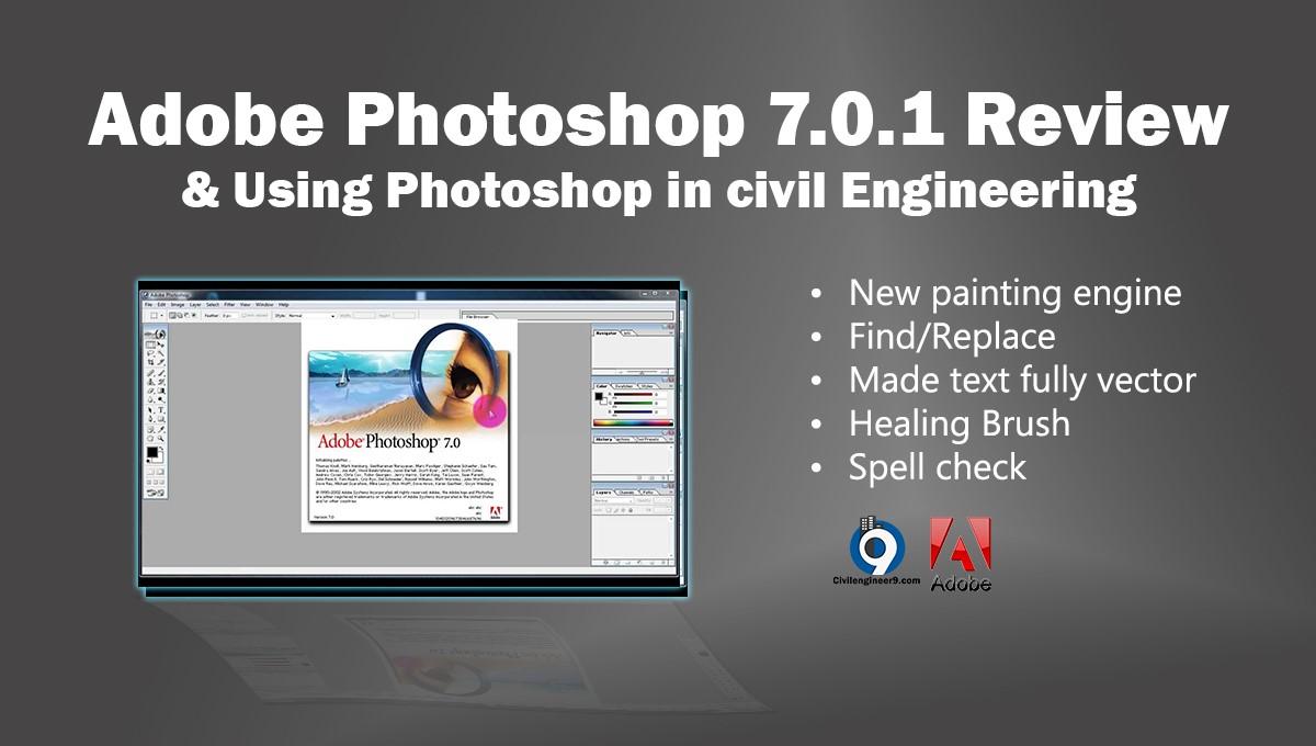 Adobe Photoshop 7.0.1 Features