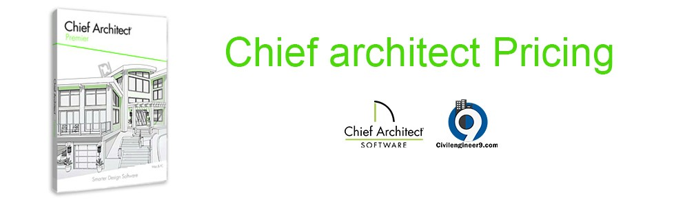 Chief architect PRICING