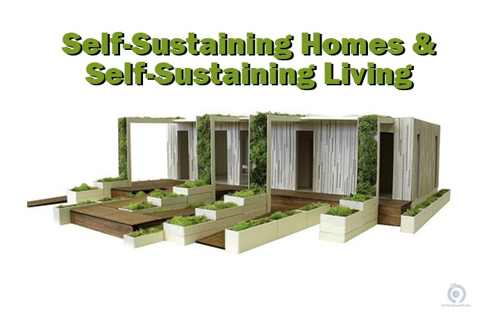 Self Sustaining Homes