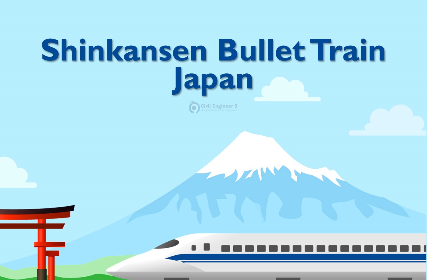 Shinkansen bullet Train