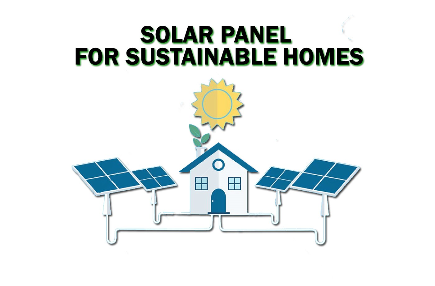 Solar panel is best alternative energy for Sustainable homes