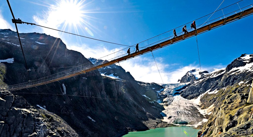 Trift Bridge – Switzerland