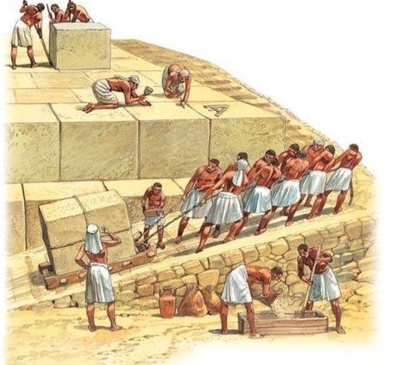 Pyramids Built