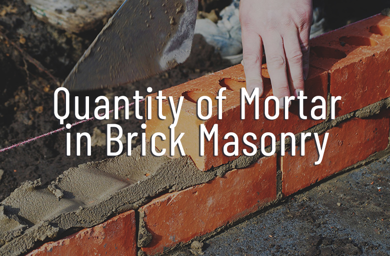 Calculate-Mortar-In-Brick-Masonry